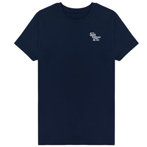Seen Through Glass T-Shirt - Navy