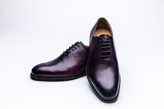 Plain Toe Oxford Purple