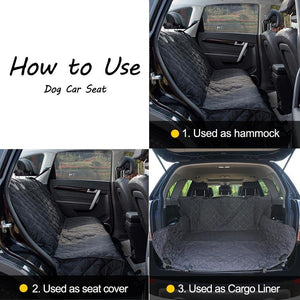 Waterproof Dog Car Cover
