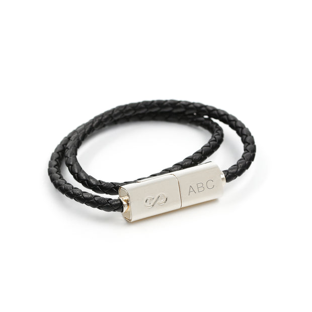 Engraved Charging Cable Bracelet