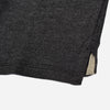Solid Black Polo T Shirt