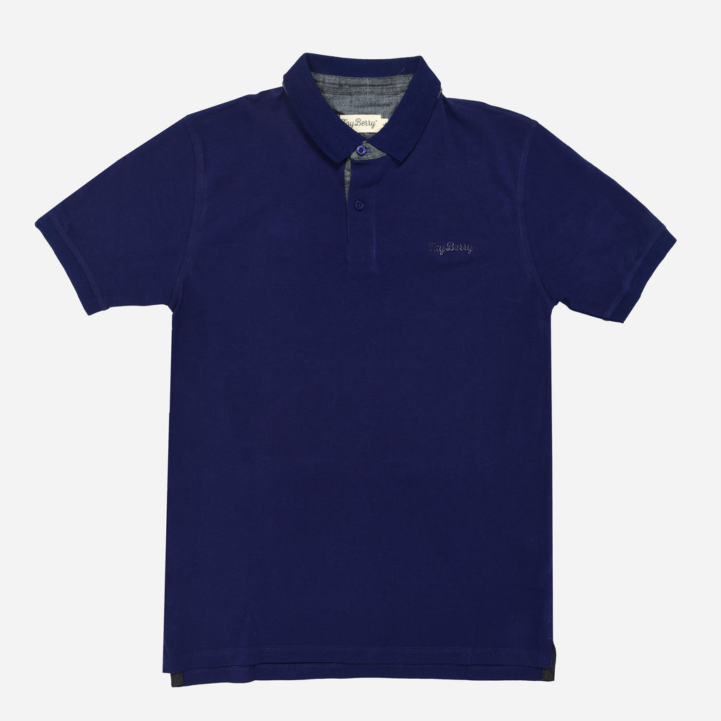 947a665e Royal Blue Polo T-shirt | Tayberry – Tayberry Merchandise