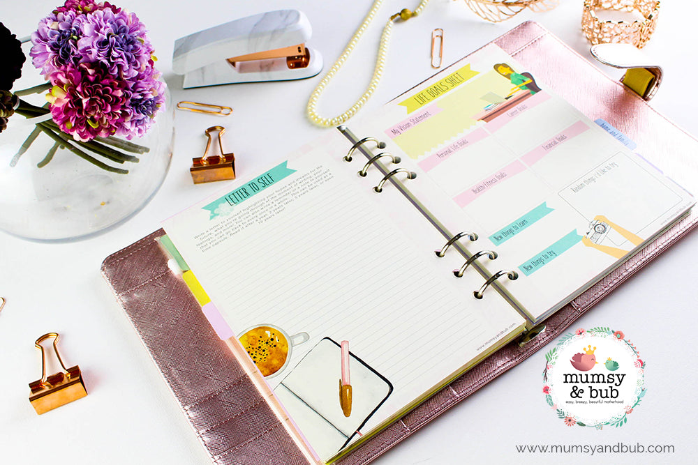 How to Decorate Your Planner Inserts