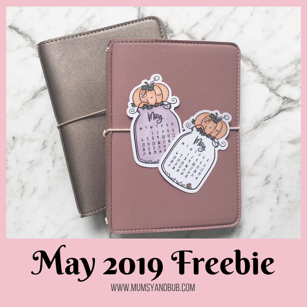 Free Downloadable Calendar for May 2019