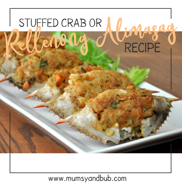 Stuffed Crab or 'Rellenong Alimasag' Recipe