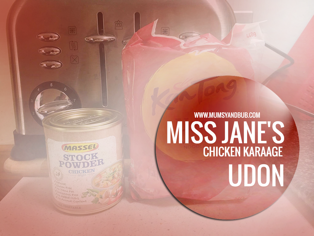 Miss Jane's Chicken Karaage Udon (Japanese Soup)