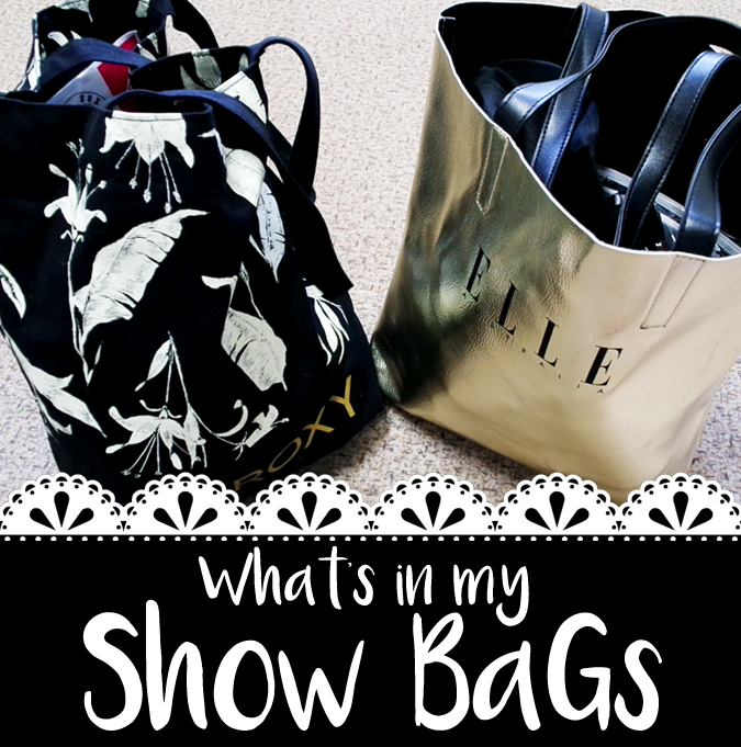 What's Inside my Show Bags?