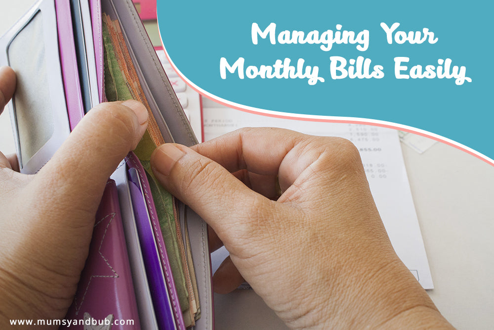 Managing your Monthly Bills Easily