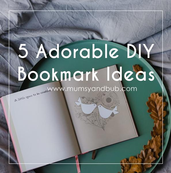 5 Adorable DIY Bookmark Ideas