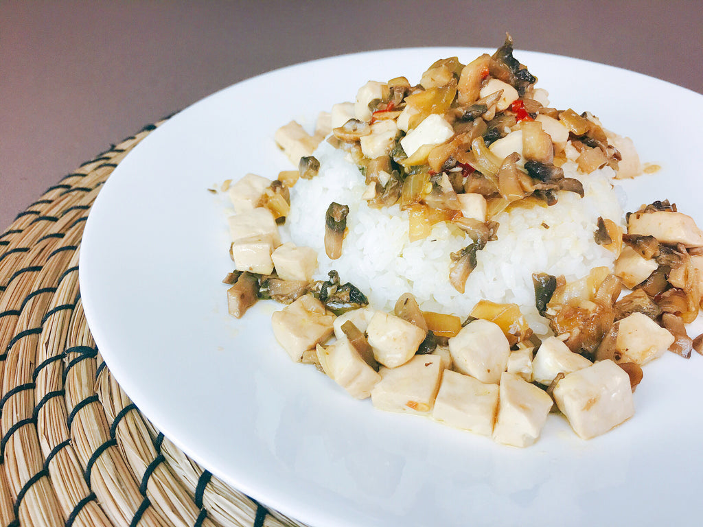 sisig tofu recipe