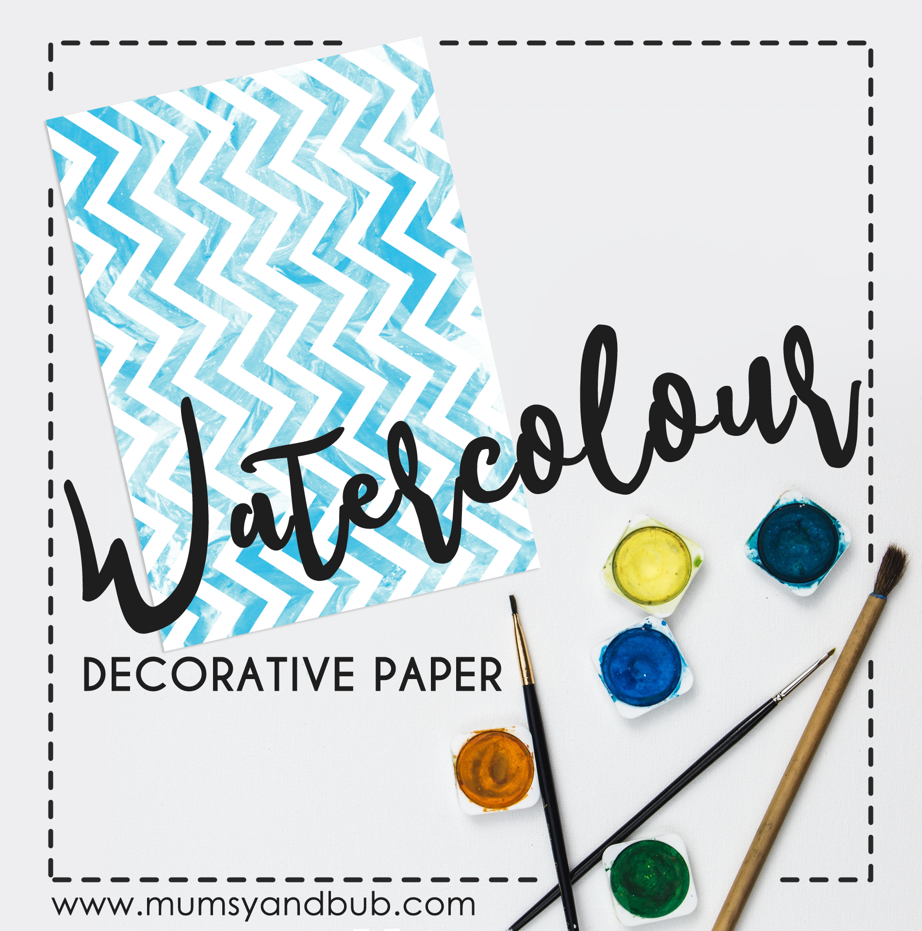 graphic regarding Free Printable Decorative Paper named Watercolour Ornamental Paper Printable Mumsy and Bub