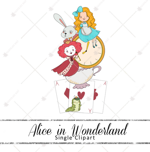 Single Clipart - Alice