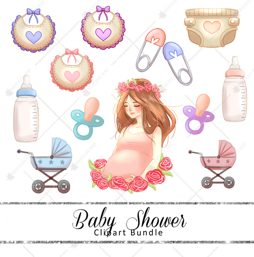 Clipart Bundle - Baby Shower