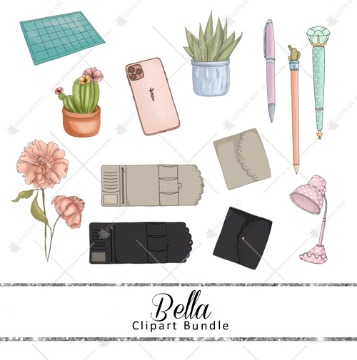 Clipart Bundle - Bella