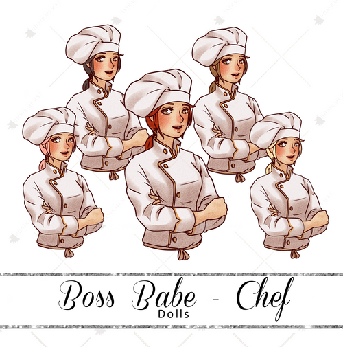 Dolls - Boss Babe Chef
