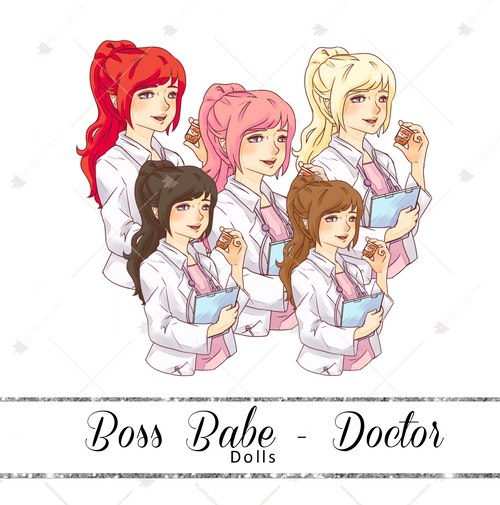 Dolls - Boss Babe Doctor