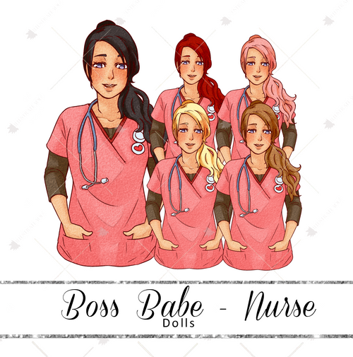 Dolls - Boss Babe Nurse