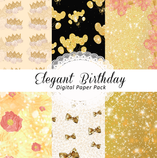 Mega Pack - Elegant Birthday