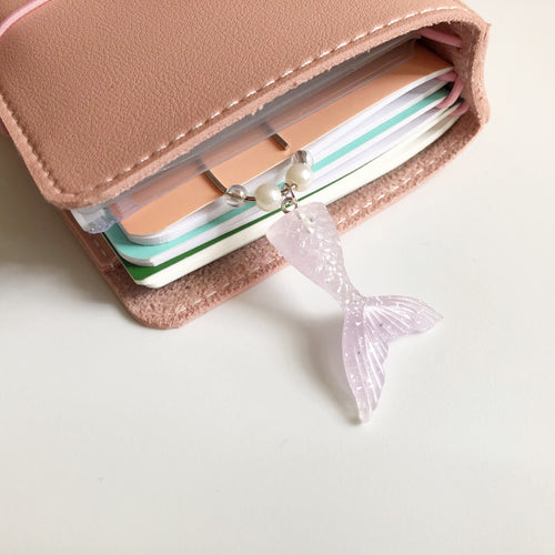Mermaid Tail Paperclip Charm (Lavender)