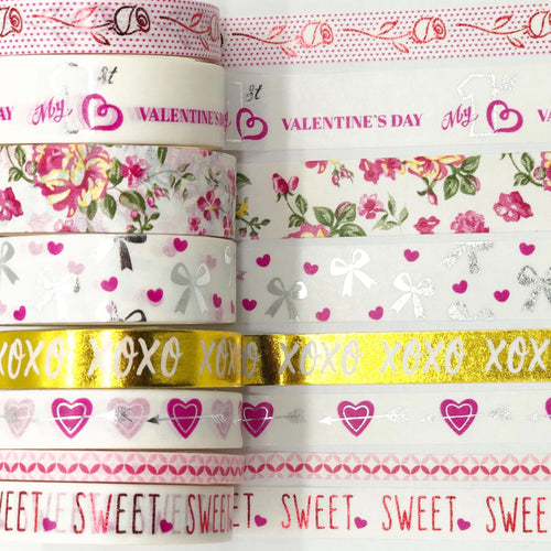 Valentine's-themed Washi Pack