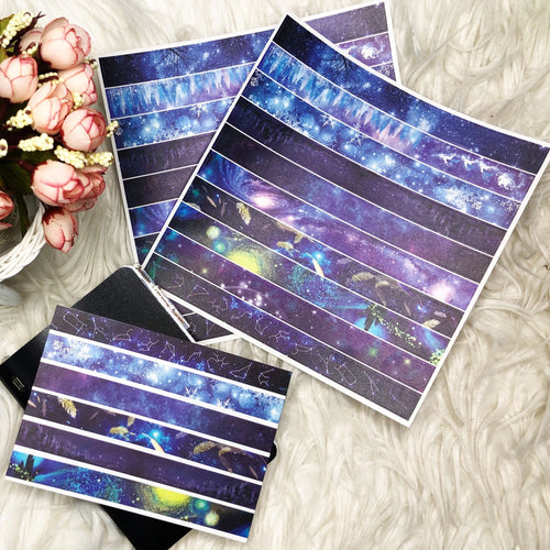 Galaxy Washi Stickers