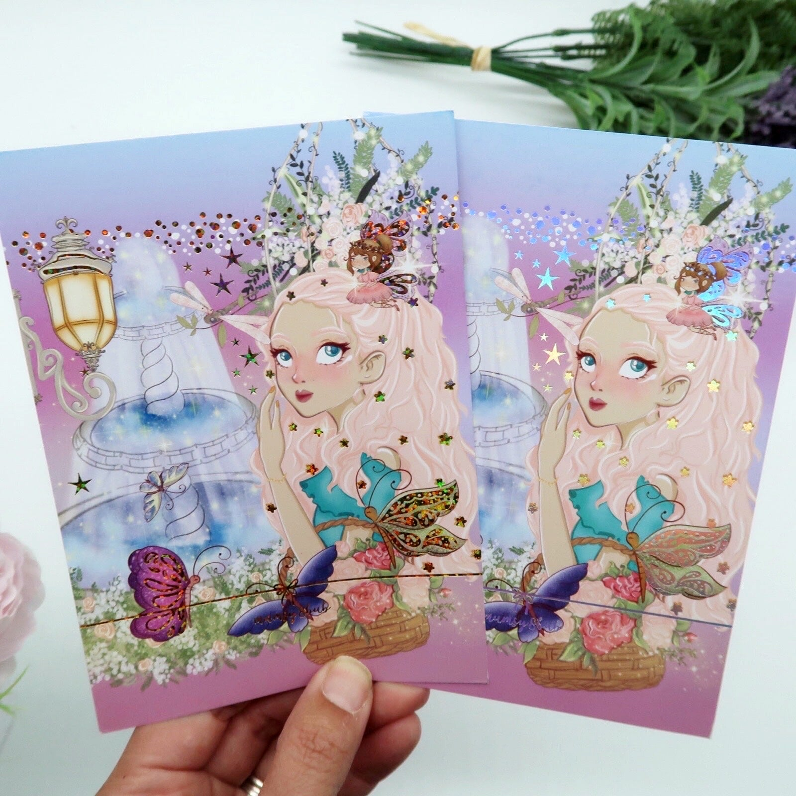 Enchanted Garden Postcard