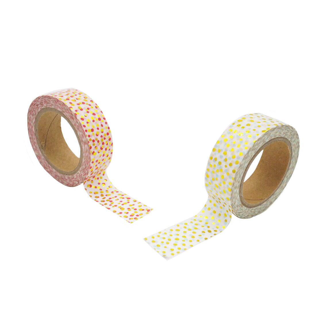 Multicoloured Polka Washi