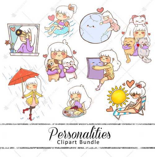 Clipart Bundle - Personalities