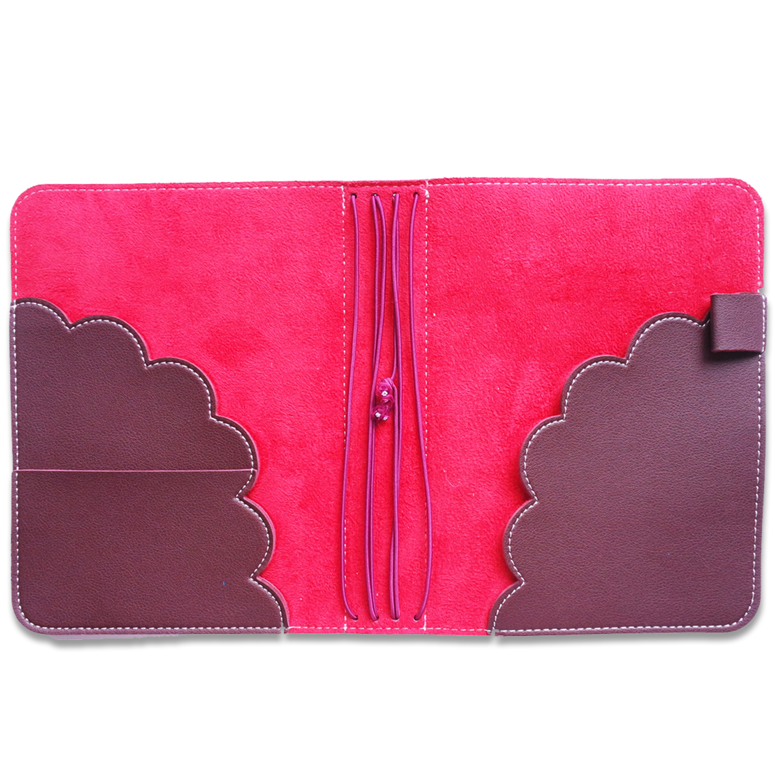 Perfect Fit B6 Travelers Notebook - Red Velvet