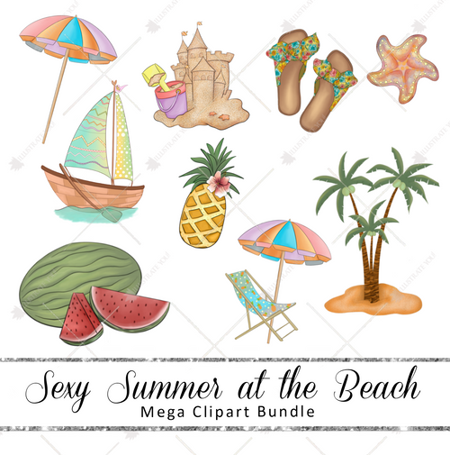 Mega Pack - Sexy Summer at the Beach