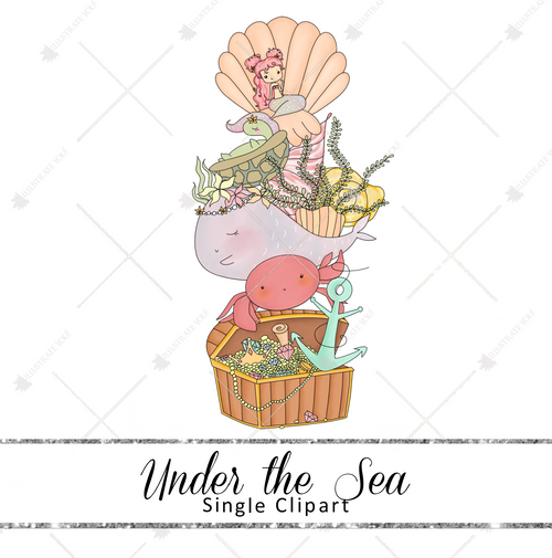 Single Clipart - Under the Sea