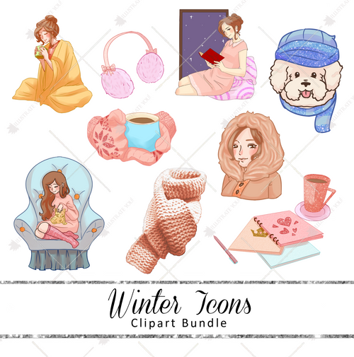 Clipart Bundle - Winter Icons