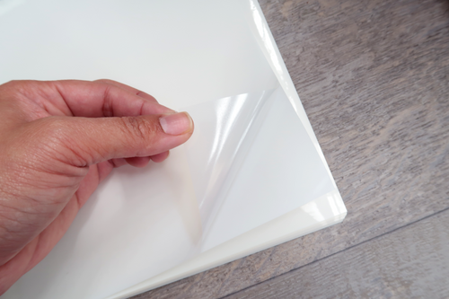A4 Premium Clear Adhesive Paper