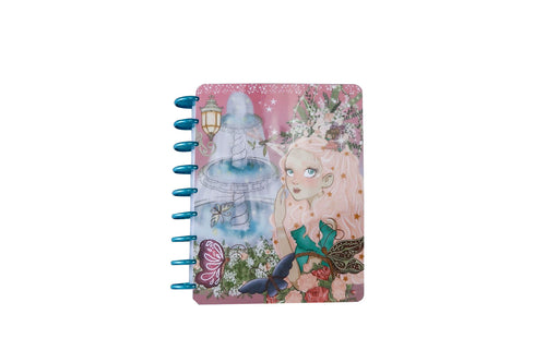 7x9 Disc Planner (Jumbo Bella) - Enchanted Garden