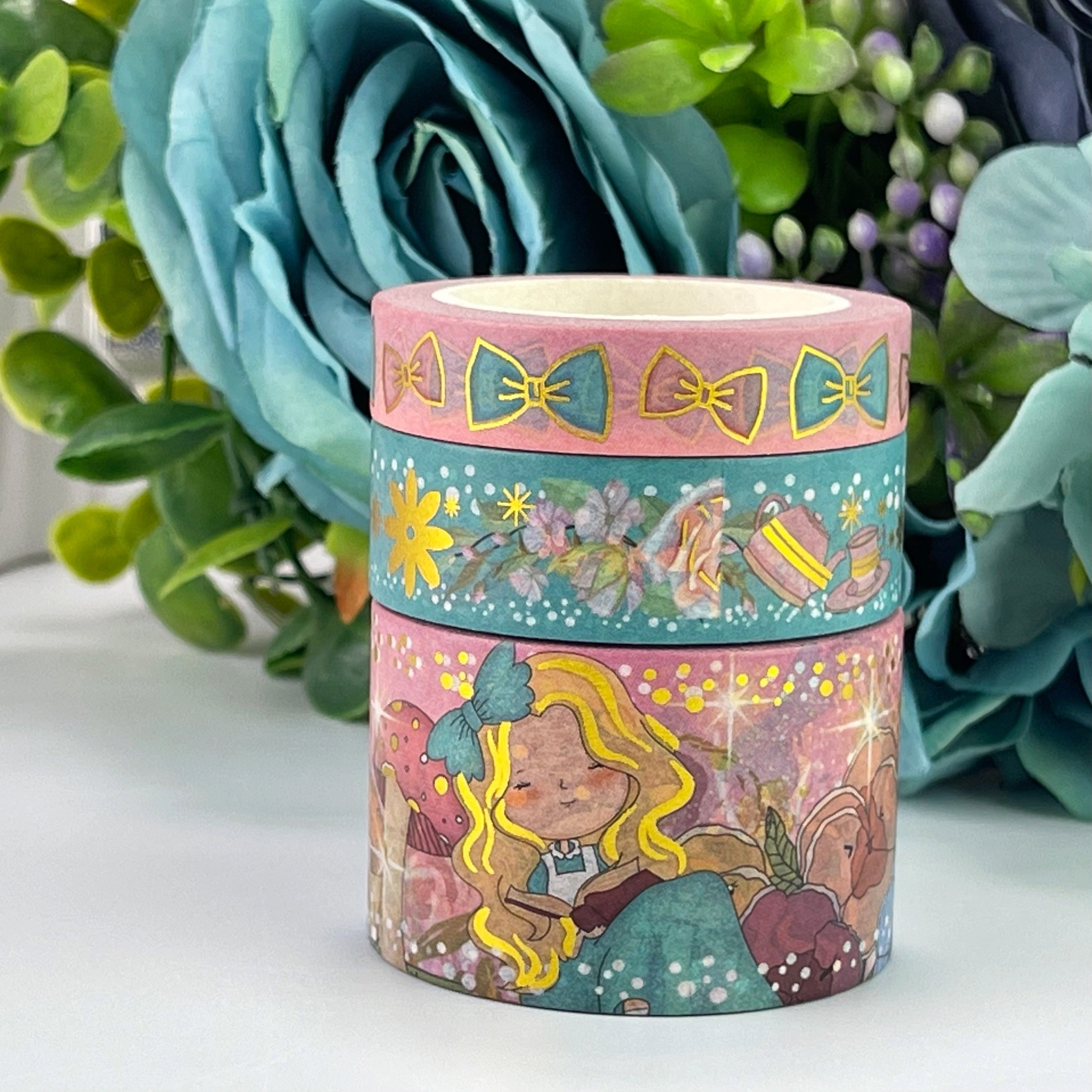Custom Washi Set - Wonderland