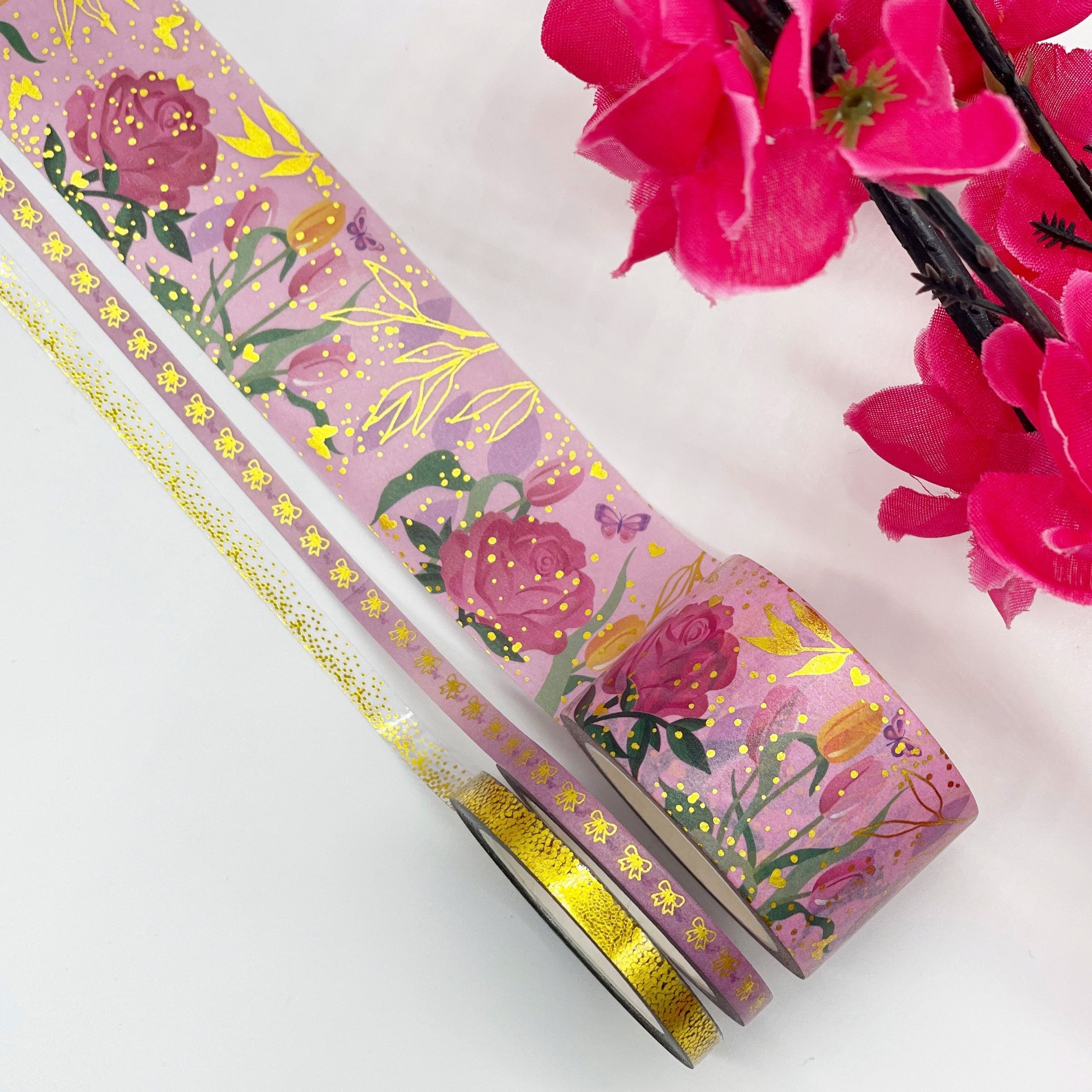 Custom Washi Set - Floral Bliss