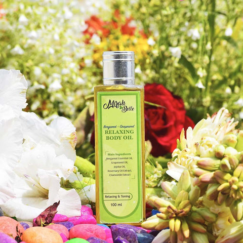 Bergamot-Grape Seed Relaxing Body Oil