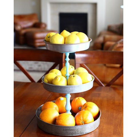 Alternative use of Cake stand Fruit Bowl