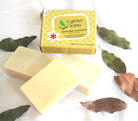 Nutsovercoconut,bahtingsoap,soap,navvi,beauty,skincare,natural