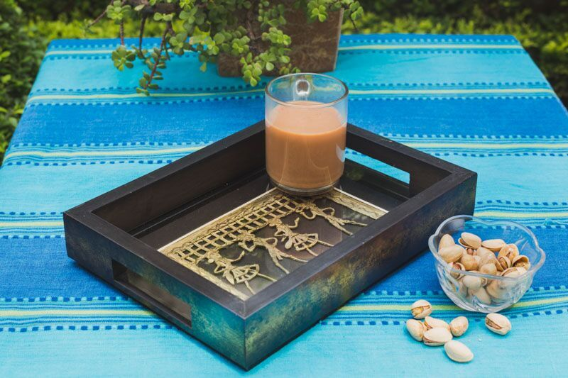 Ethnic Tray - Navvi Lifestyle