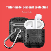Exquisite Texture Black Airpods Case - Navvi Lifestyle