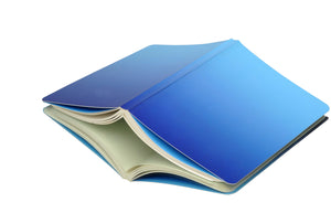 Curio Reversible Notebook - Blue Ombre - Navvi Lifestyle