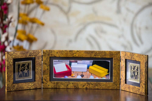 Photo Frame Two Folds Antique - Navvi Lifestyle