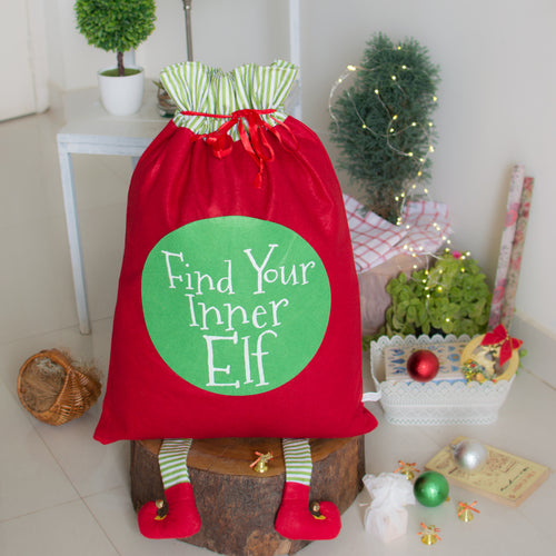 Find Your Inner Elf Sack - Navvi Lifestyle