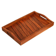 Sheesham Wooden Tray Brown - Navvi Lifestyle