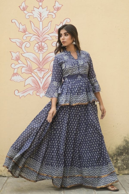 lehenga,lehenga set,navy blue lehenga set,ethnic wear,ethnic lehenga set,fashion,ethnic fashion,wedding wear,wedding collection,women ,women fashion,lehenga with dupatta,lehenga with choli and dupatta,navvi,navvi.in