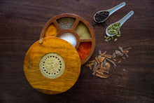 Spice Serveware Box with Dhokra Art - Navvi Lifestyle