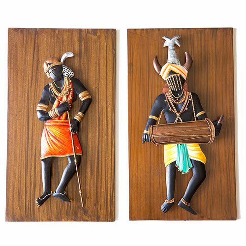 Tribal Couple Dance Pair - Navvi Lifestyle
