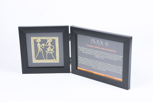Dhokra Art Photo Frame - Navvi Lifestyle