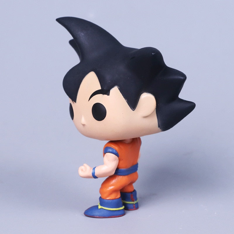 Very Cute Dragon Ball Figures Featuring Goku, Krilin, Trunks, Vegeta...